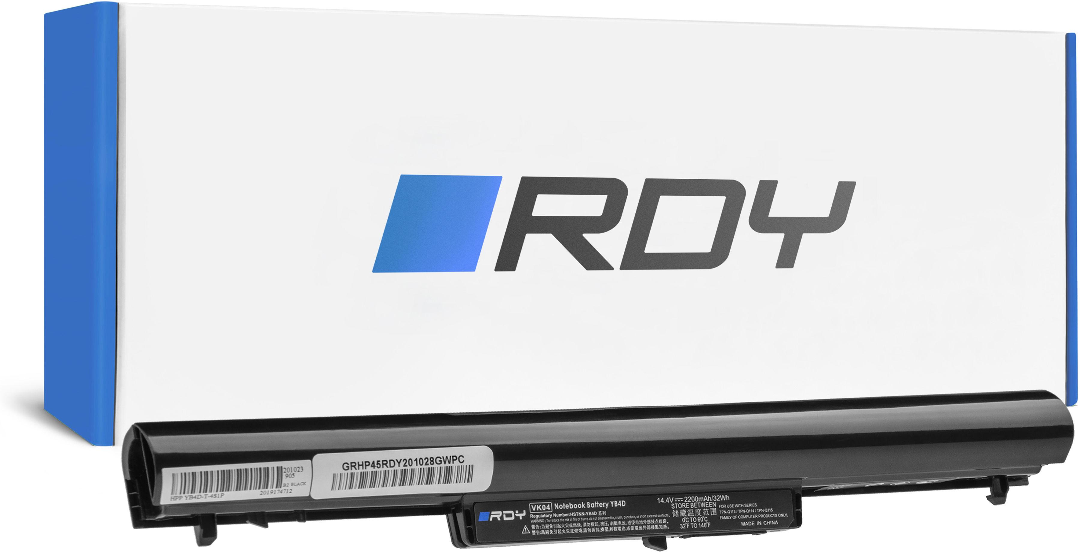Bateria RDY VK04 HSTNN-YB4D 694864-851 695192-001 do HP Pavilion 14-B 14-C 15-B M4 HP 242 G1 G2