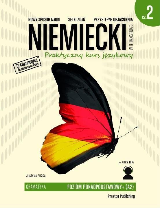 Niemiecki w tłumaczeniach Gramatyka Część 2 ZAKŁADKA DO KSIĄŻEK GRATIS DO KAŻDEGO ZAMÓWIENIA