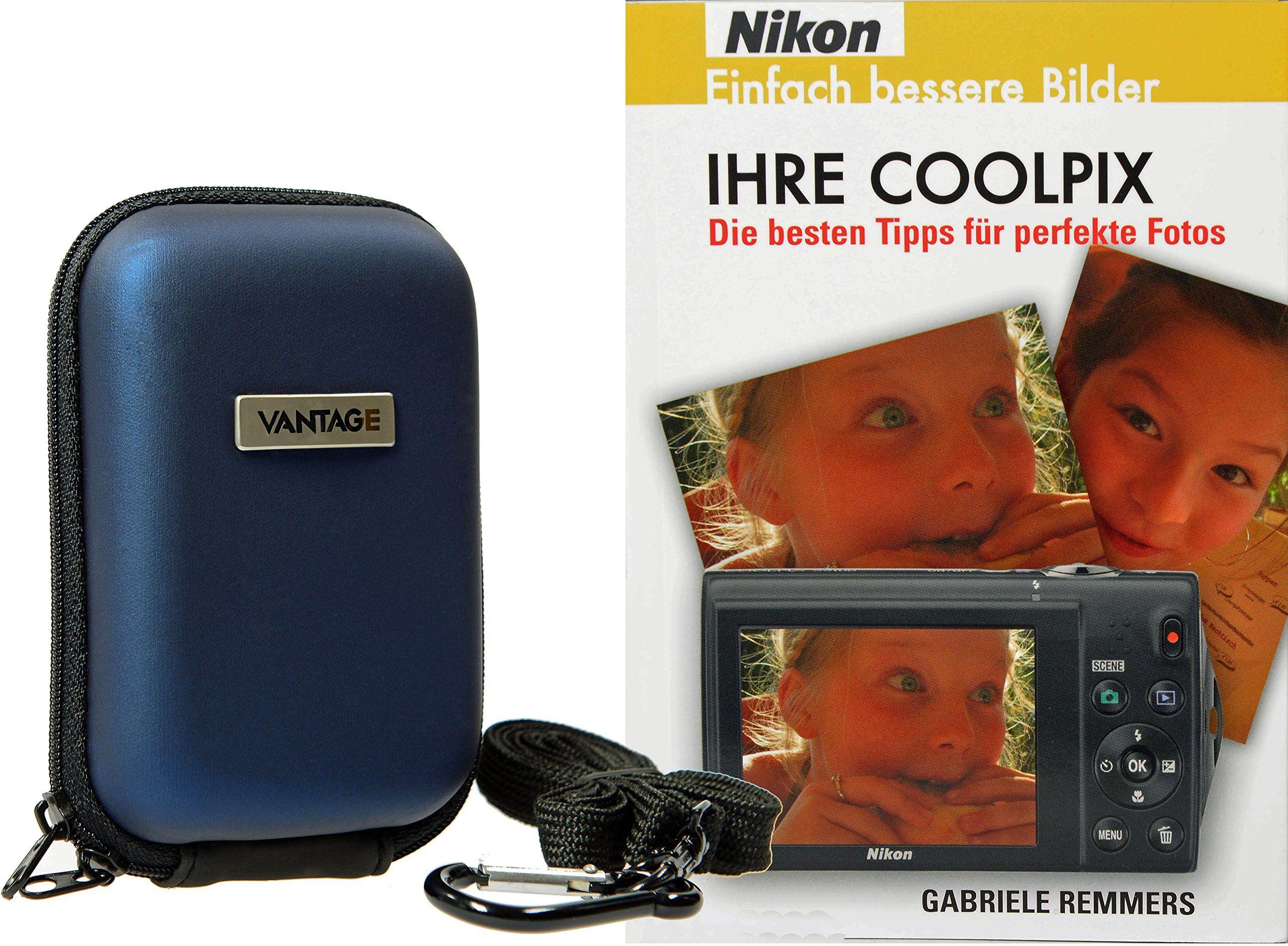 Torba na aparat fotograficzny EVA z fotoksiążką IHRE COOLPIX Nikon do S7000 S6900 L31 L33 i wiele więcej