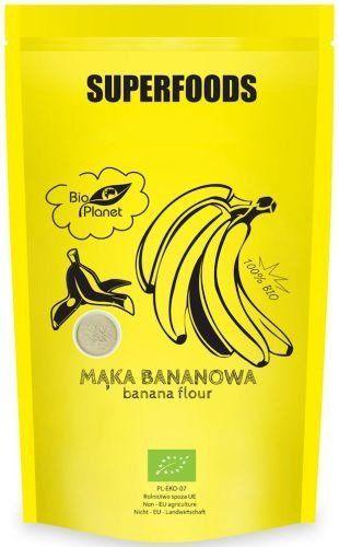 Mąka Bananowa 200g - Bio Planet Superfoods