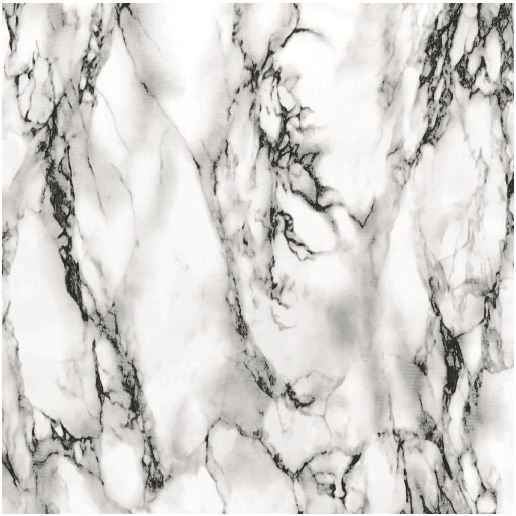 Okleina MARMUR biało-czarna 45 x 200 cm imitująca marmur