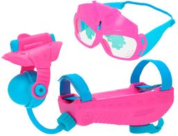 EOLO  dzbanek na wodę i okulary Aqua Gear, różowy i niebieski (COLORBABY 43653)