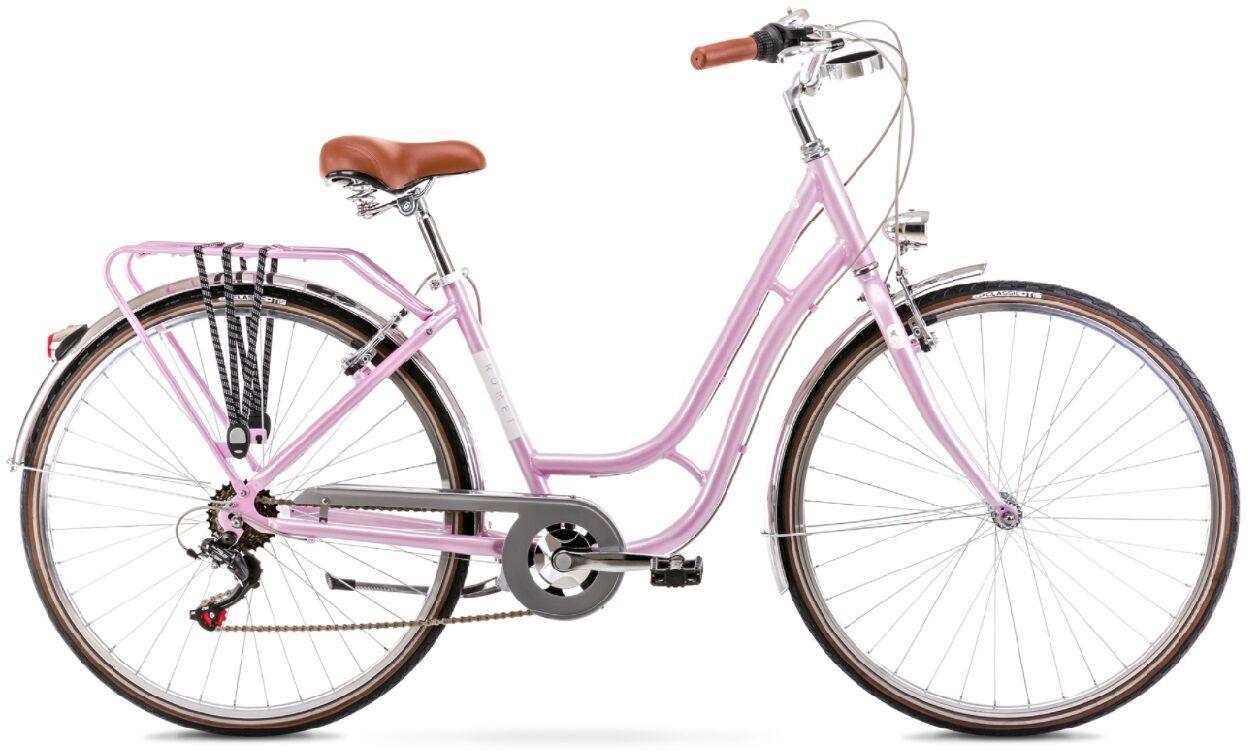 Rower Romet Luiza ECO 28 R18 M Da 2022 różowy
