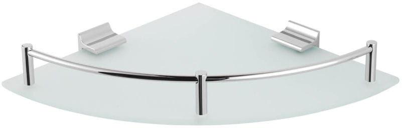 Stella półka narożna szkło matowe 16.101
