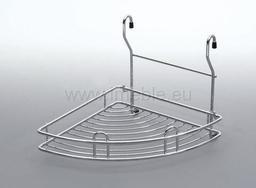Koszyk zawieszkowy narożnikowy aluminium