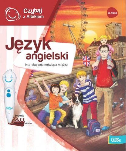 Czytaj z Albikiem Język Angielski mówiąca książka Albi