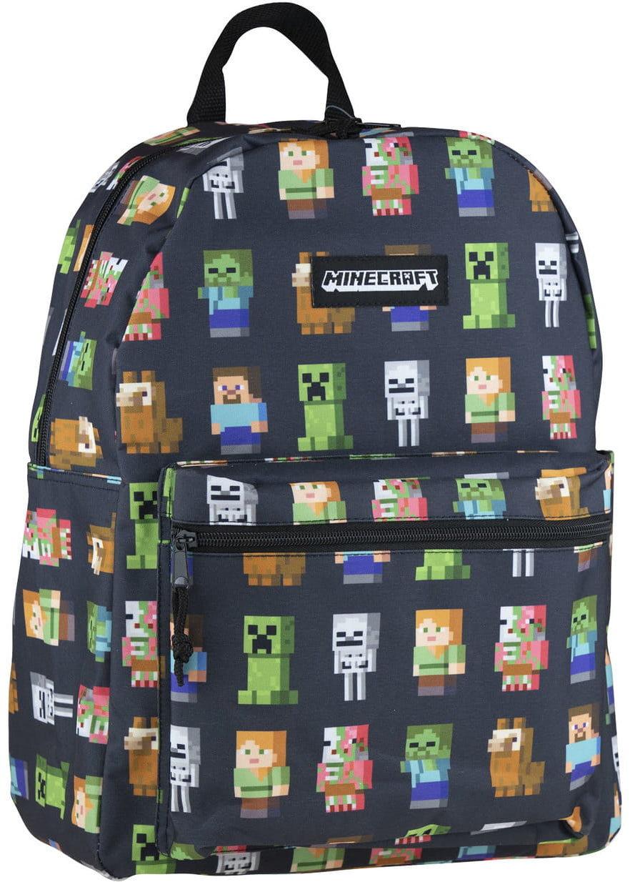 Plecak młodzieżowy Minecraft Multi Character