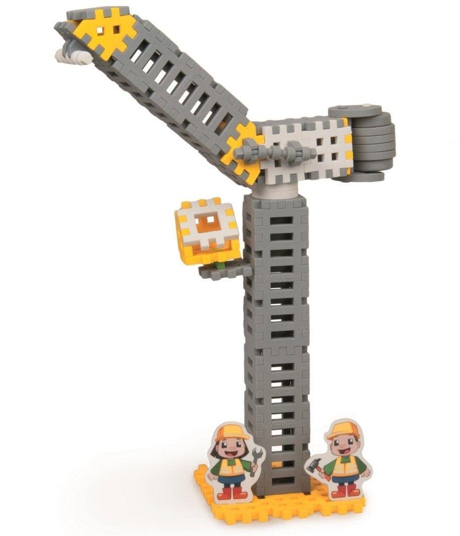 Klocki konstrukcyjne Mini Waffle Budowniczy Zestaw Średni
