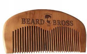 Beard Bross Grzebień Naturalne Drewno