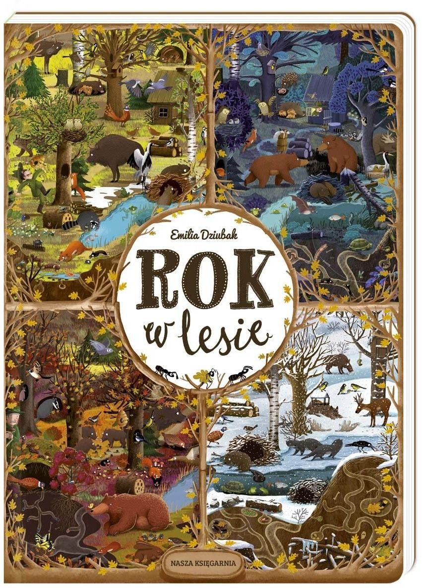 Nasza Księgarnia - Rok w lesie