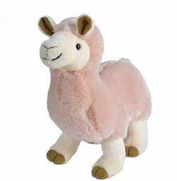 Wild Republic 23466 pluszowa lama stojąca miękka, przytulanka do przytulania, prezenty dla dzieci, 30 cm, wiele
