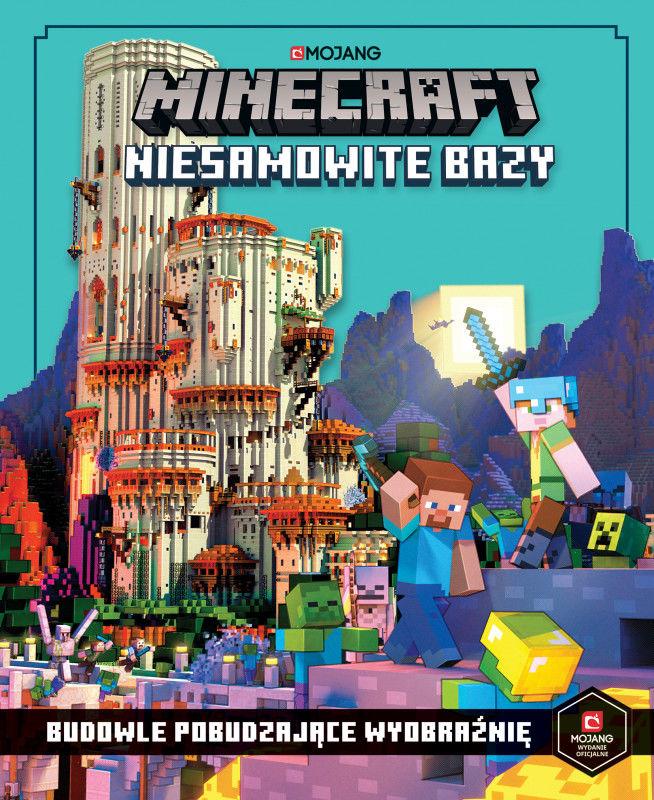 Niesamowite bazy. Budowle pobudzające wyobraźnię. Minecraft ZAKŁADKA DO KSIĄŻEK GRATIS DO KAŻDEGO ZAMÓWIENIA