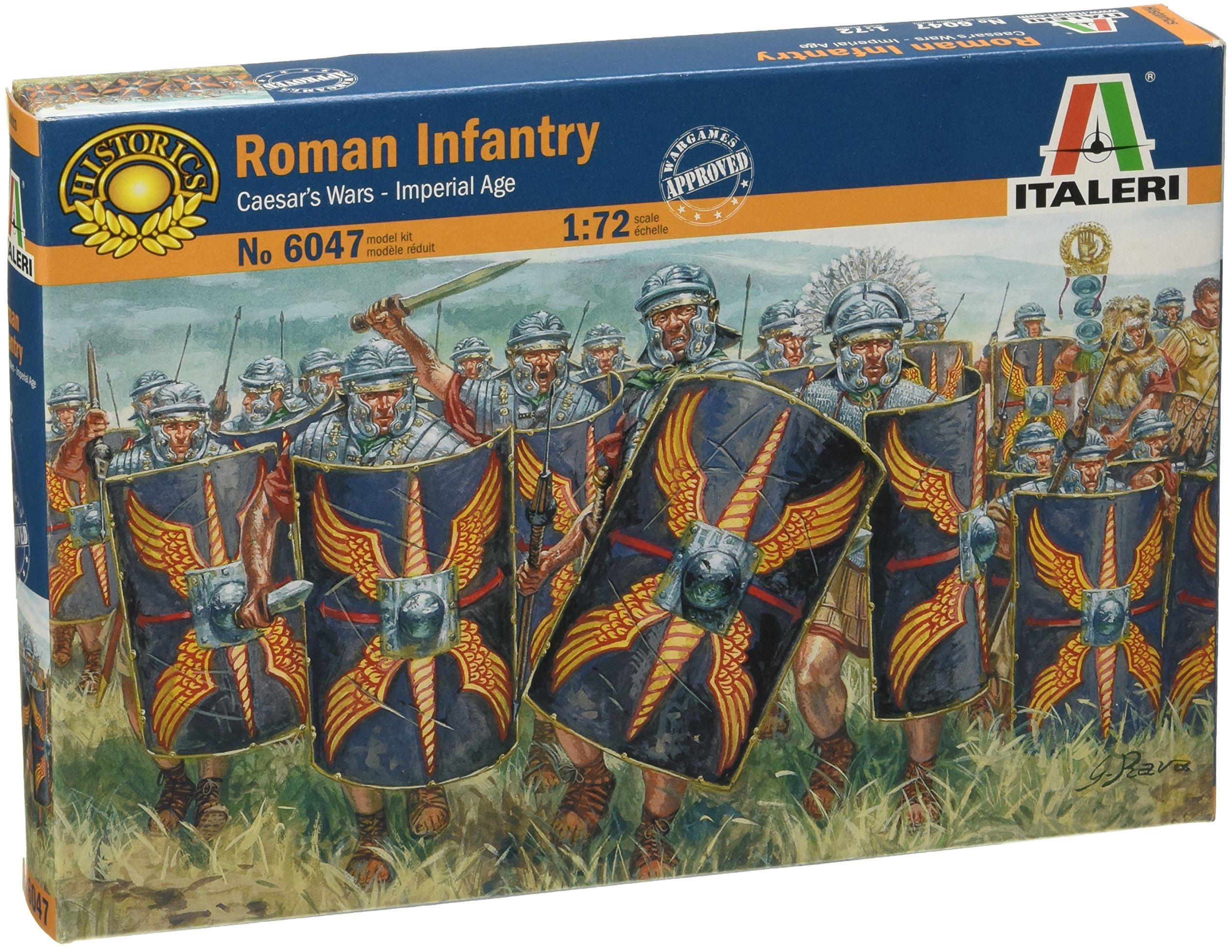 Italeri 510006047 - 1:72 piechoć rzymska 1 wiek