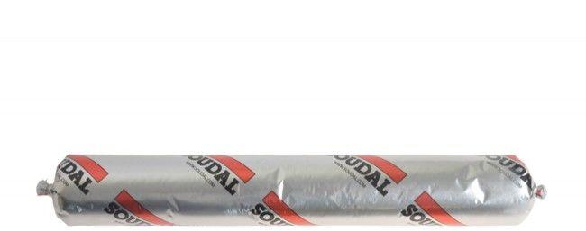 Silikon SOUDAL SILIRUB 2 neutralny bezbarwny 600 ml