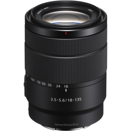 Sony E 18-135mm F3.5-5.6 OSS - obiektyw zmiennoogniskowy, SEL18135 Sony SEL18135