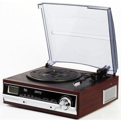 Gramofon CAMRY CR 1113 Brązowy DARMOWY TRANSPORT!