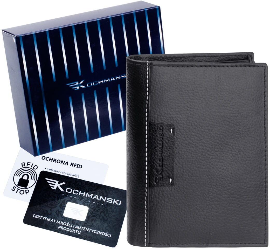 KOCHMANSKI portfel męski skórzany RFID 3221