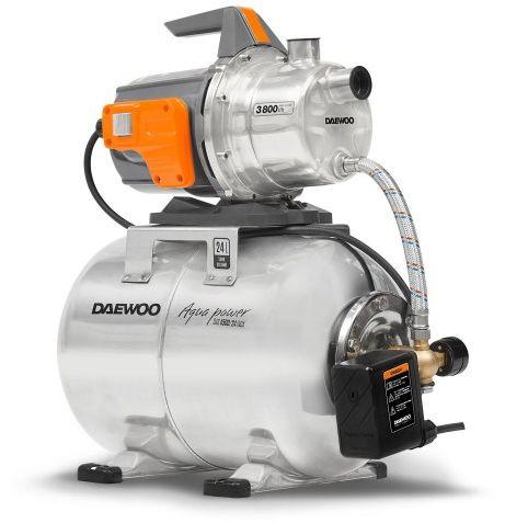 Hydrofor + pompa wody Daewoo DAS 4500/24 INOX 1200W 24l