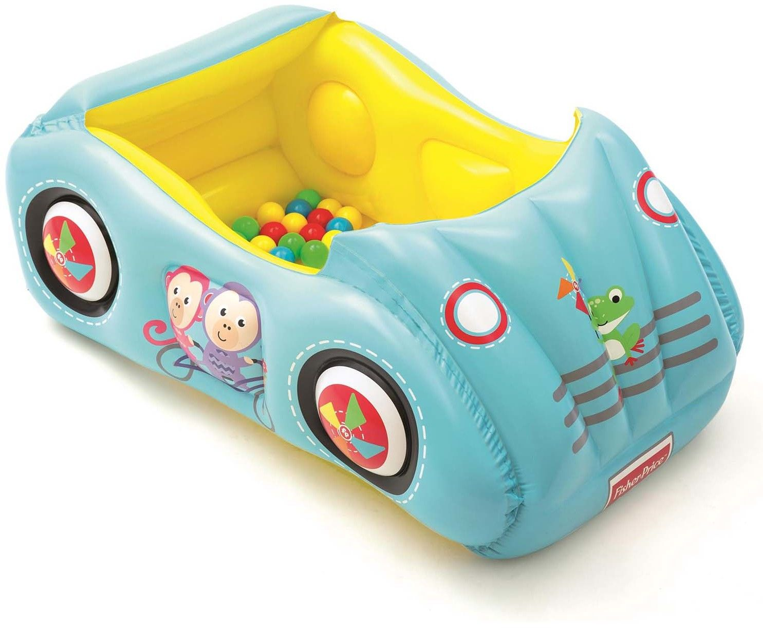Kojec samochód + piłki Fisher-Price Bestway 93535