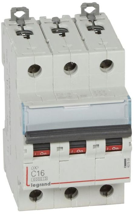 Wyłącznik nadprądowy 3P C 16A 6kA S303 DX3 407859