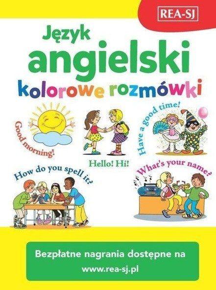 Język angielski - kolorowe rozmówki + MP3 REA - Pavlina Samalikova