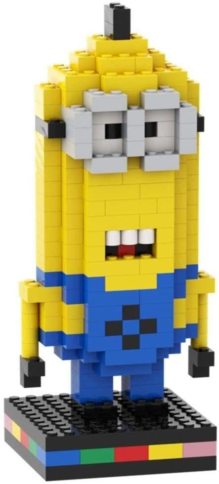 figurka; mini; 3d-puzzle; animacja; pixo-pixoworld; puzzle; minion; nanoblock; lego; kino