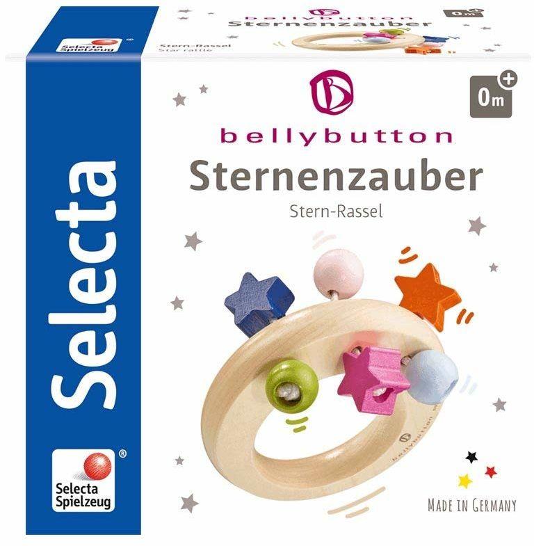 Selecta 64012 Sternenzauber, chwytak z drewna, 8 cm