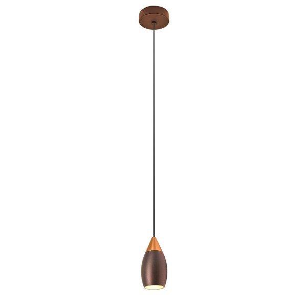 Lampa wisząca nowoczesna ETRO 7W ciepła 3000K beżowy/różowe złoto śr. 4,5cm