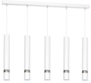 Lampa wisząca Luminex Ringo 1 x 60 W E27 czarna
