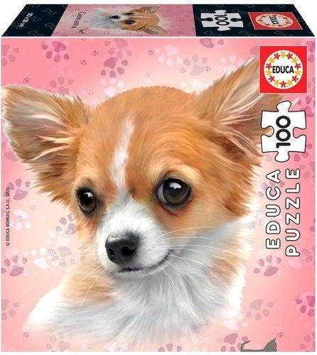 Puzzle Educa 100 Psy - Chihuahua