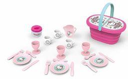 Smoby  Kosz piknikowy Hello Kitty i 20 akcesoriów (Smoby 310535)