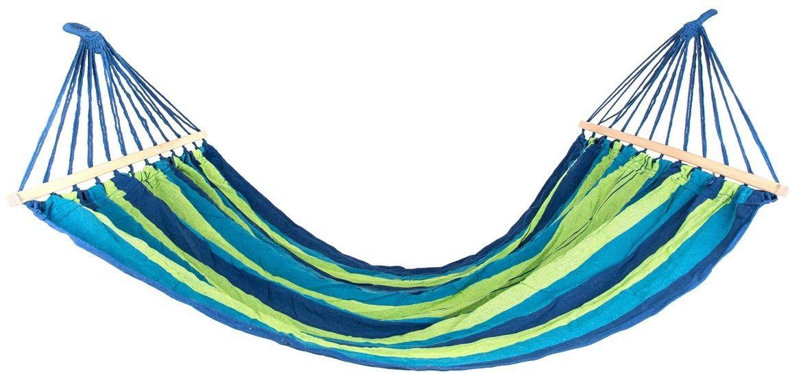 Happy Green Wiszący leżak-bujak 200 x 150 cm, niebieski