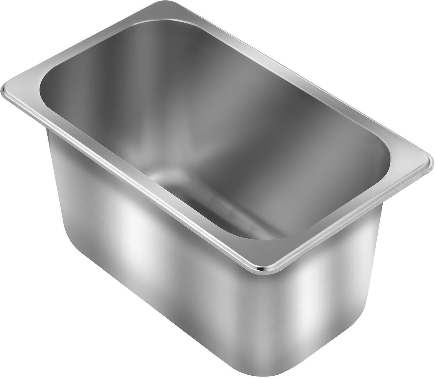 Pojemnik gastronomiczny - GN 1/4 - stal nierdzewna - Royal Catering - RCGN-1/4-1 - 3 lata gwarancji/wysyłka w 24h