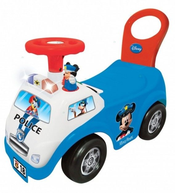 Kiddieland 052720 Jeździk Mickey Police