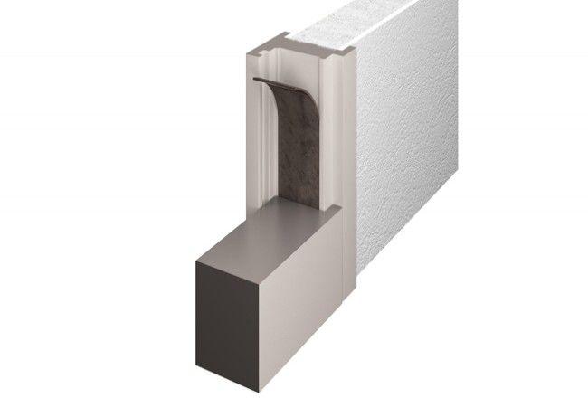 Uszczelka do drzwi przeciwpożarowych samoprzylepna Marvon Tecnoflame 40x2 mm, (MA0TP214020S)