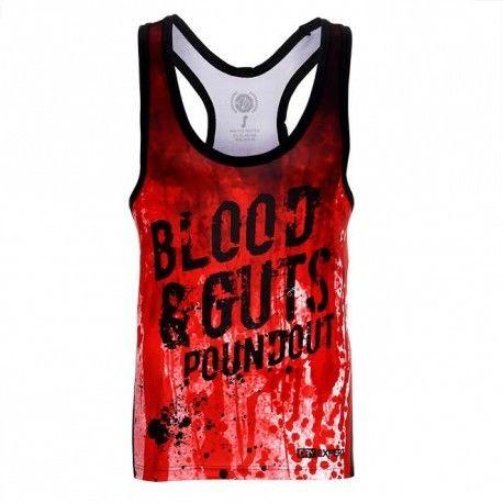 Poundout tank top BLOOD & GUTS