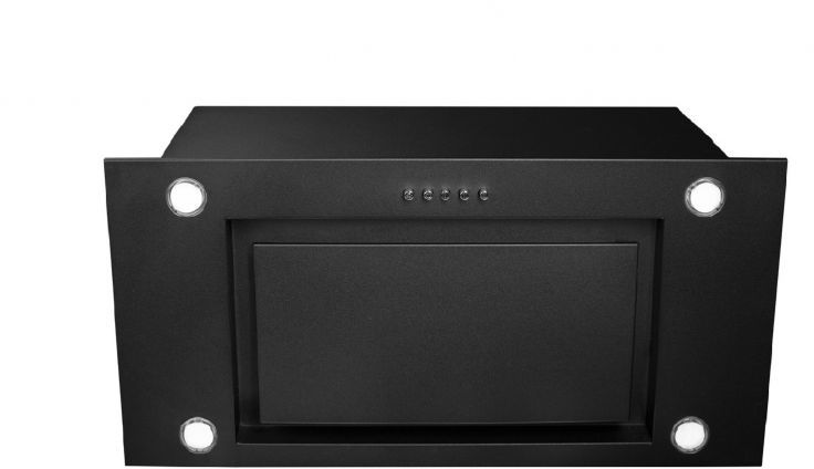 Okap podszafkowy Marino Eco Black Matt 59,5 cm