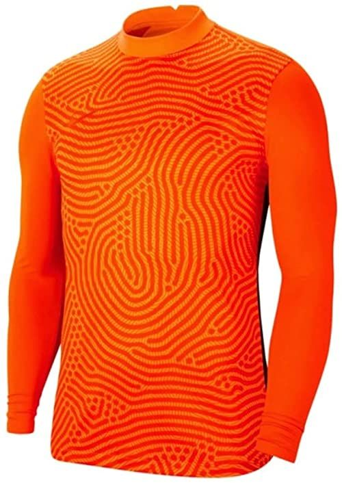 Nike Uniseks dziecięcy Gardien III Goalkeeper T-Shirt pomarańczowa Total Orange/Brilliant Orange/Team Orange 122-128