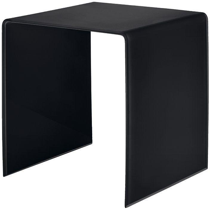 Guzzini - dwukolorowy stolik mały - czarny - casa - czarny