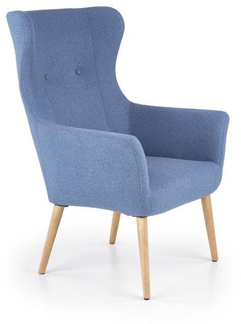 Fotel Cotto - niebieski