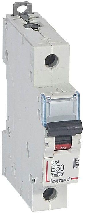 Wyłącznik nadprądowy 1P B 50A 10kA S311 DX3 408877