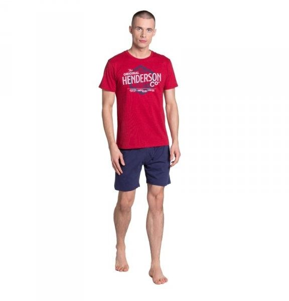 Henderson lars 38869 czerwona piżama męska