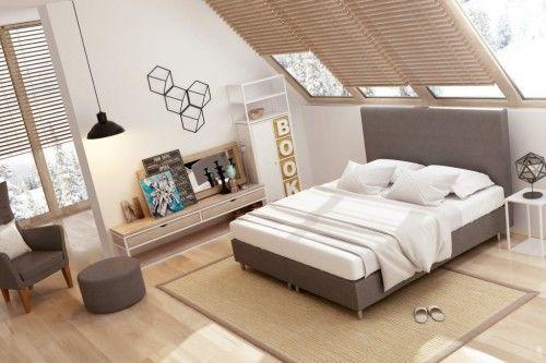 Łóżko kontynentalne Classic