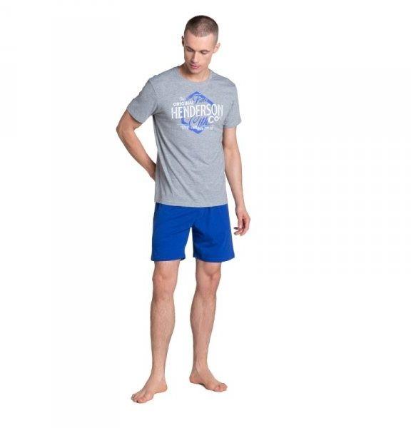 Henderson lars 38869 szara piżama męska