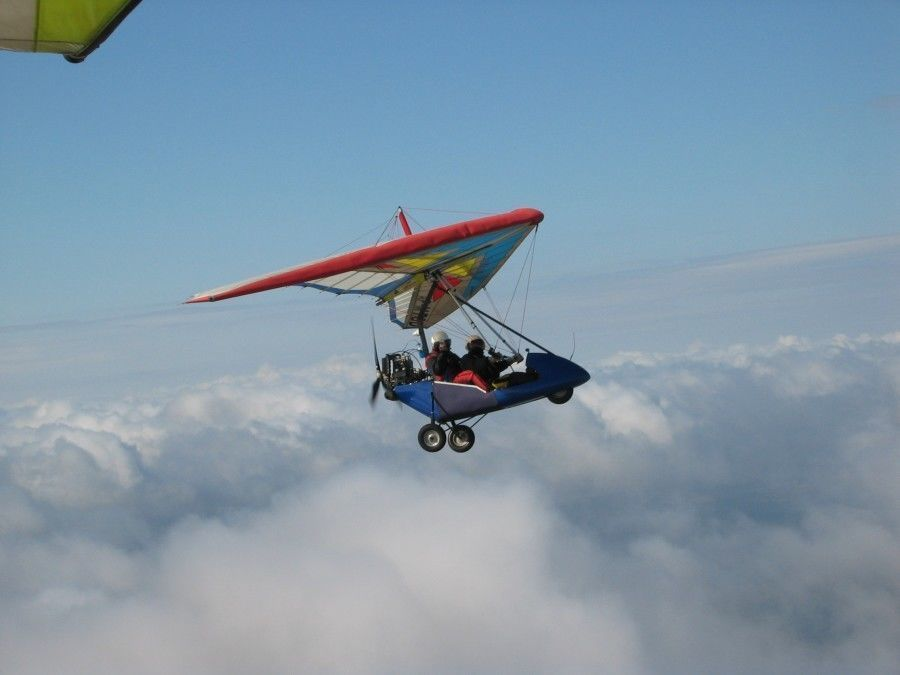 Lot motolotnią - Gliwice - 10 minut