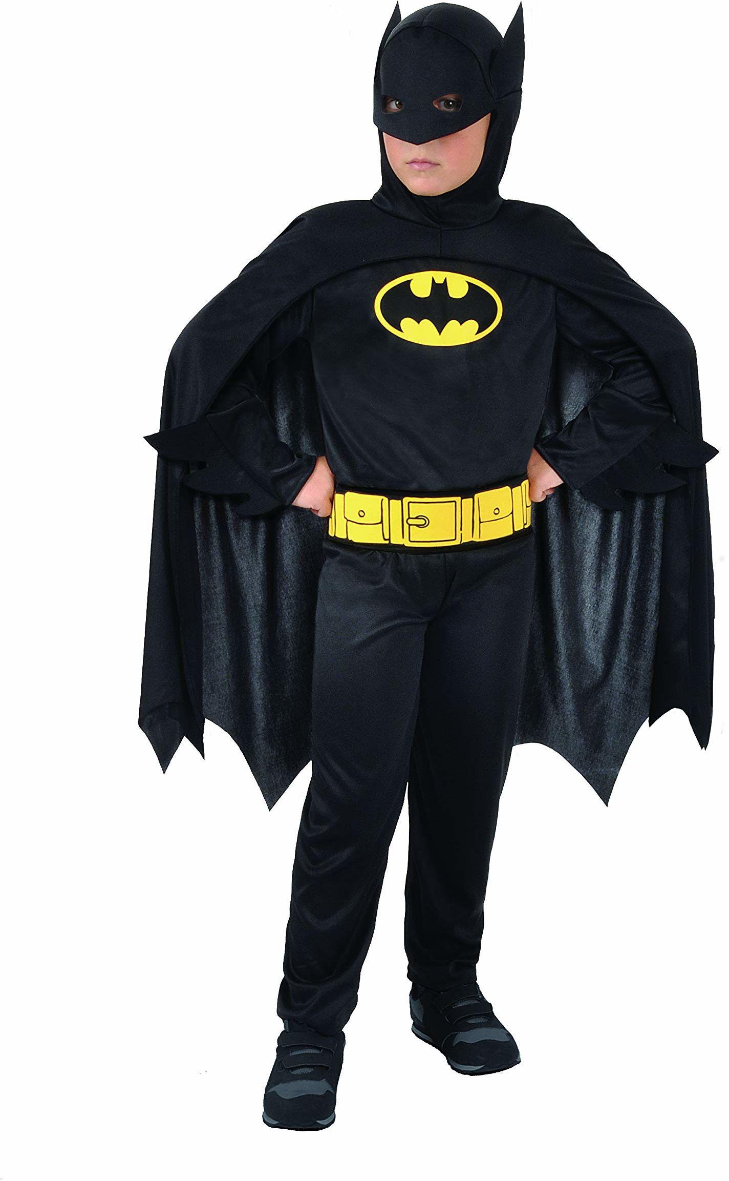 Ciao - Batman Dark Knight oryginalny kostium dziecięcy DC Comics (rozmiar 8-10 lat), kolor, 11670.8-10