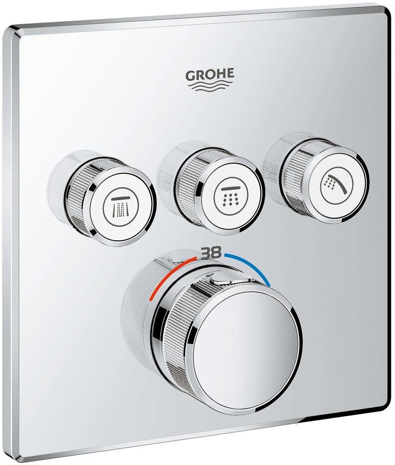 Grohtherm SmartControl bateria wannowo-prysznicowa podtynkowa termostatyczna chrom - 29126000 Darmowa dostawa