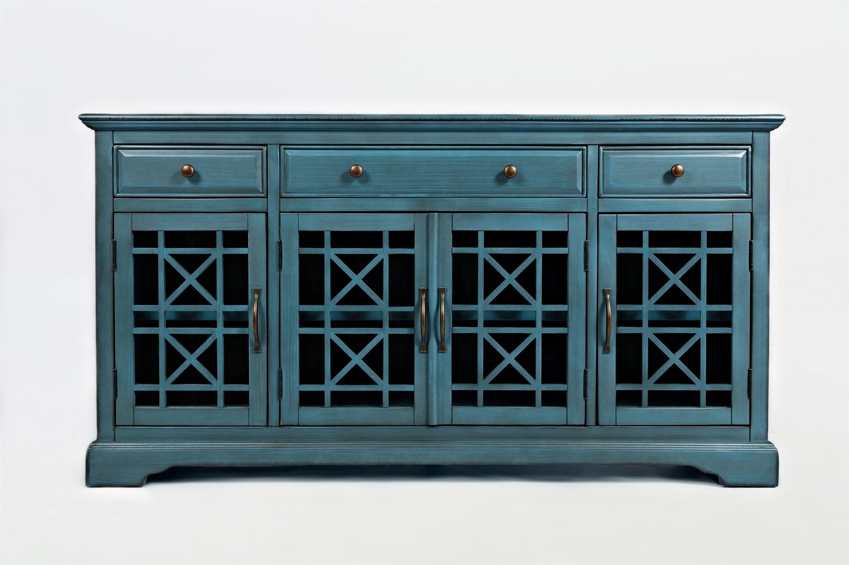 AV175-60 Komoda 4D/3S Avola Antique Blue