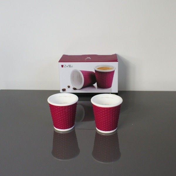 Filiżanki do Espresso - 100 ml - 2 szt. fioletowe