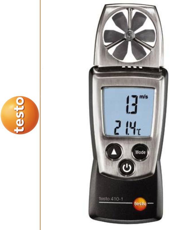 Anemometr wiatraczkowy 410-1 TESTO